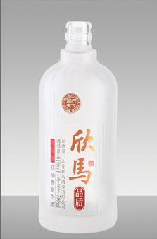 晶白酒瓶-002