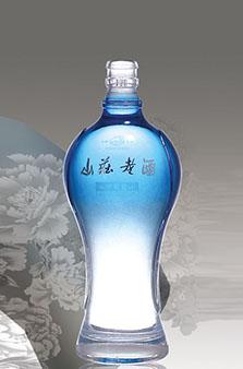 晶白酒瓶-005