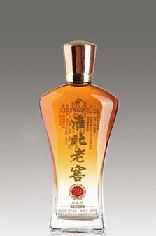 晶白酒瓶-006