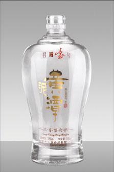 晶白酒瓶-031