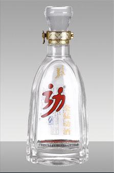 晶白酒瓶-033