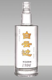 晶白酒瓶-036