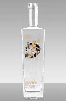 晶白酒瓶-037