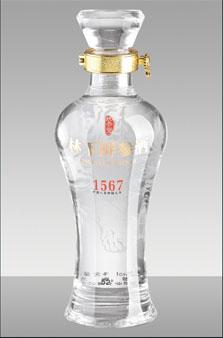 晶白酒瓶-038