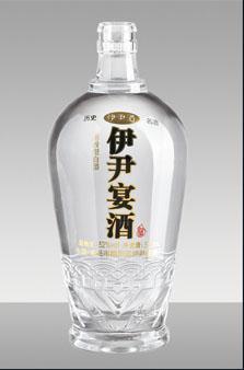 晶白酒瓶-040
